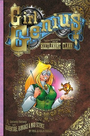 Download free pdf Agatha Heterodyne and the Beetleburg Clank  <small>(Girl Genius #1)</small>