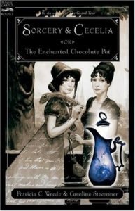 Sorcery & Cecelia: or The Enchanted Chocolate Pot  <small>(Cecelia and Kate #1)</small> torrent downlaod