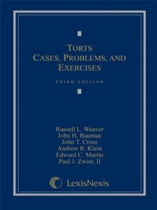 Torts: Cases, Problems, and Exercises torrent downlaod