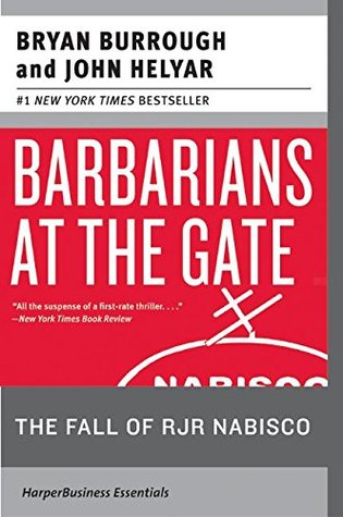 Download free pdf Barbarians at the Gate: The Fall of RJR Nabisco