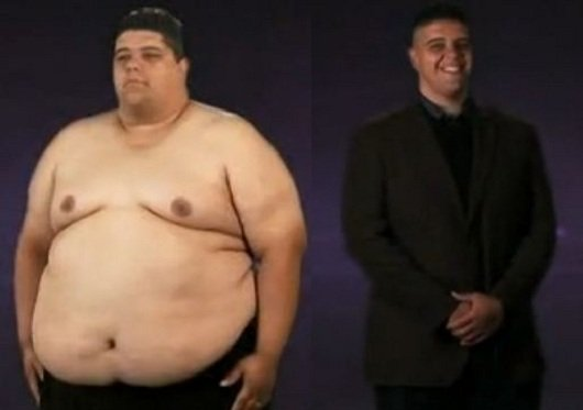 Extreme Makeover Weight Loss Edition 2012: Jonathan Before and After ...