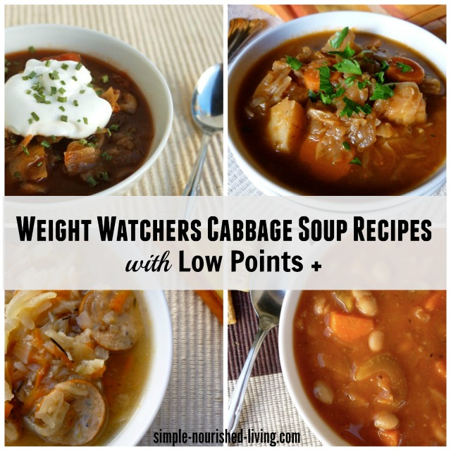 Light and Healthy Soup Recipes with Cabbage for Weight Watchers