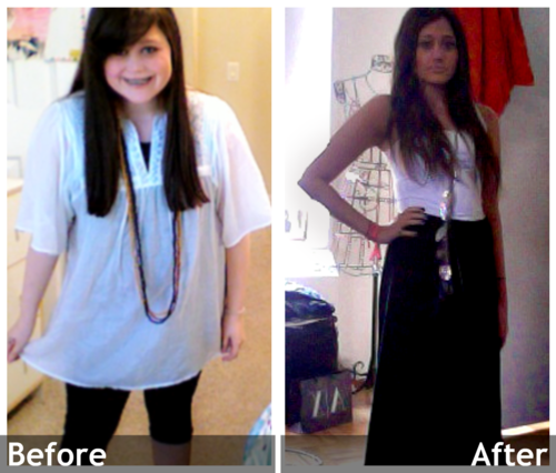 My weight loss: Before