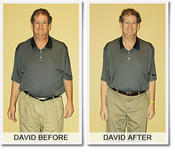 David F: 50 lbs Weight Loss