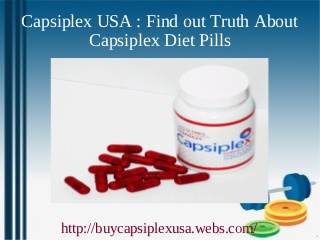 Capsiplex USA: Safe and Effective Weight loss Pills