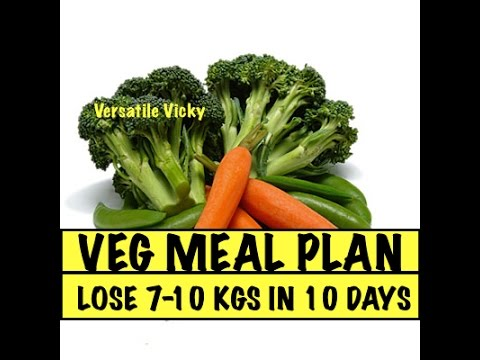 Lose Weight Fast 10 Kgs in 10 Days Veg Meal Plan - Lose Weight Quickly