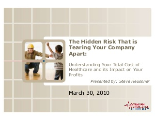The Hidden Risk That Is Tearing Your Company Apart Acbg 3 30 10