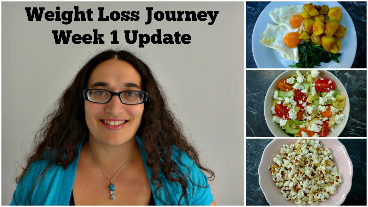 Weight Loss Journey 2016 Week 1 Update