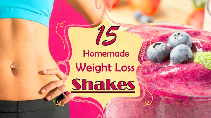 15 Simple Homemade Weight Loss Shakes