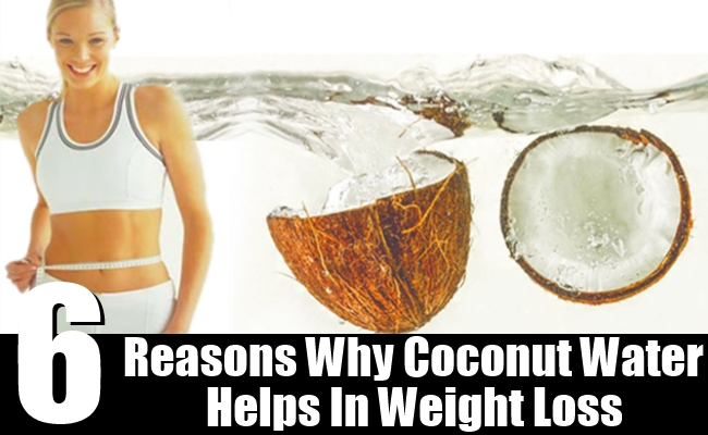 Great Reasons Why Coconut Water Helps In Weight Loss - Top DIY ...