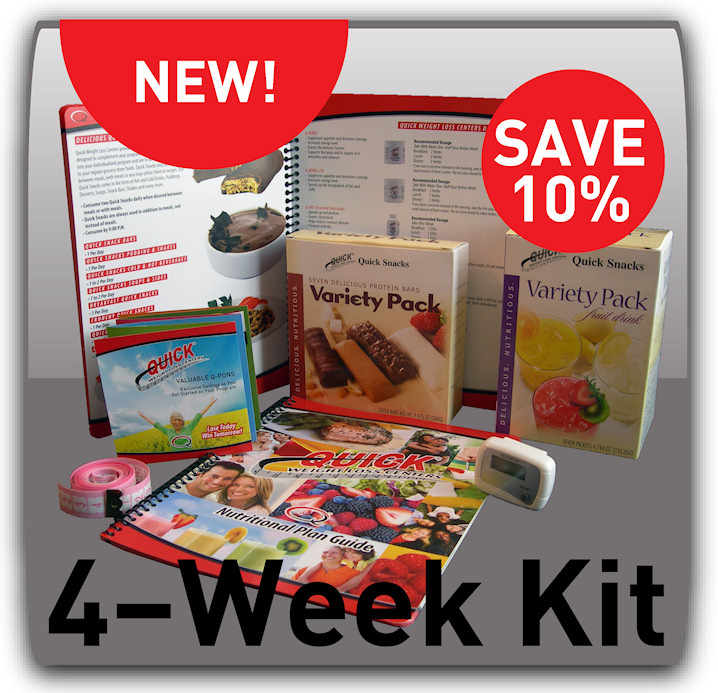 Quick Weight Loss Centers Home Program Kit