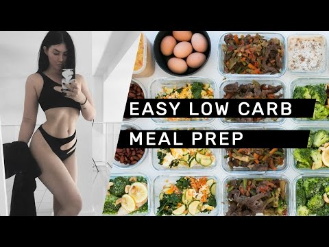 EASY LOW CARB MEAL PREP (gluten free + dairy free) // Rachel Aust