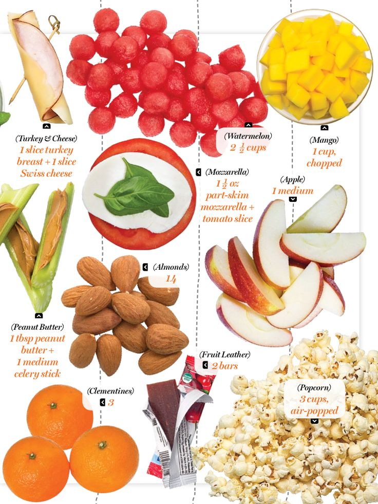 100 calorie snacks: perfect for weight loss! #healthyliving #eatright ...
