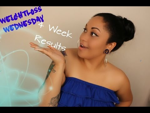 ❤Weightloss Wednesday❤ 4 Week Results