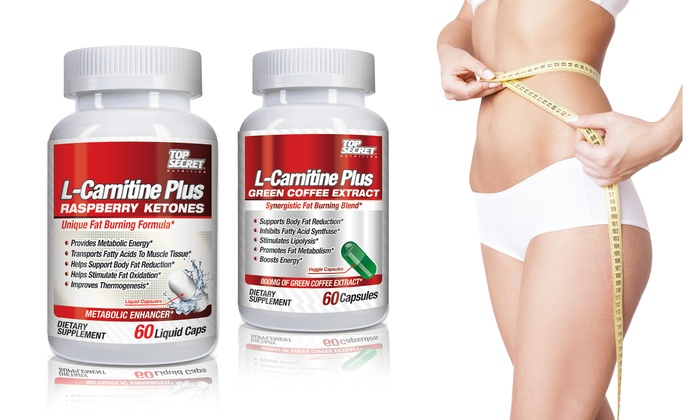 Carnitine Weight-Loss Supplements: Top Secret Nutrition L-Carnitine ...
