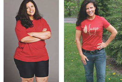 Checkout this astounding before and after picture of weight loss by a ...