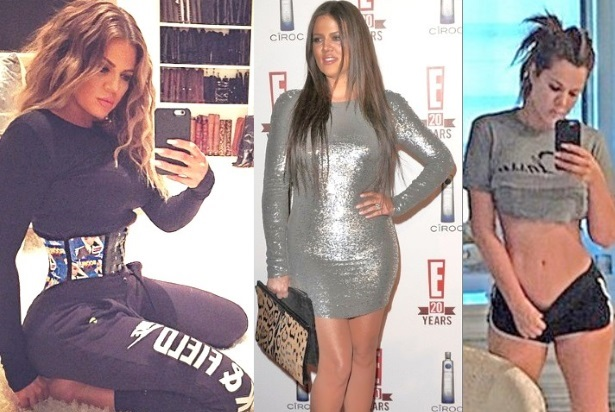 khloe kardashian weight loss waist trainer diet