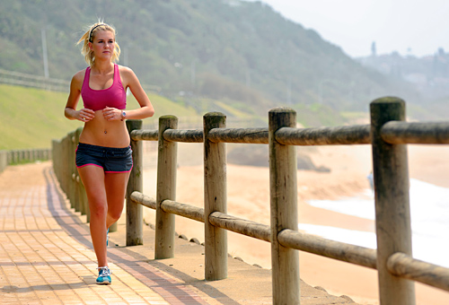 ... weight loss results? According to new research, running wins