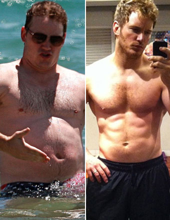 Chris Pratt Weight Loss Images