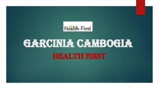 Garcinia Cambogia- The Best Weight Loss Treatment