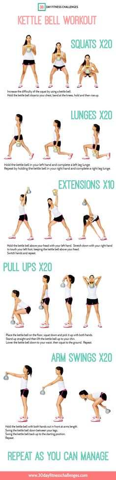 Kettlebell on Pinterest - Exercise, Abs and Kettlebell Circuit