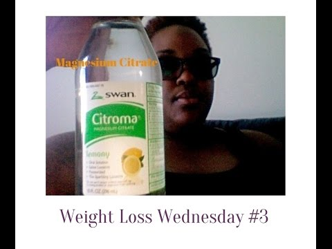 Weight Loss Wednesday #3: Magnesium Citrate