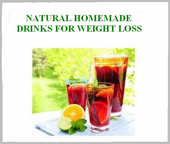 NATURAL HOMEMADE DRINKS FOR WEIGHT LOSS ~ Natural Fitness Tips