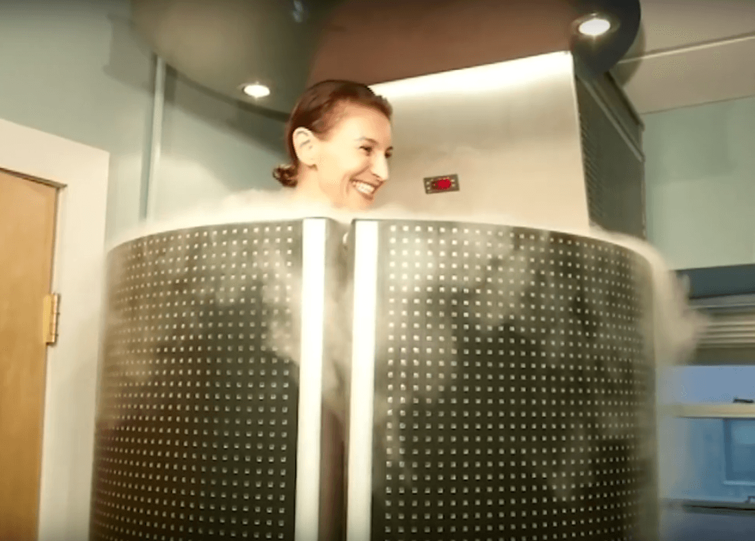 Cryotherapy - Lose Weight By Simply Standing In A Cold Cylinder For 3 ...