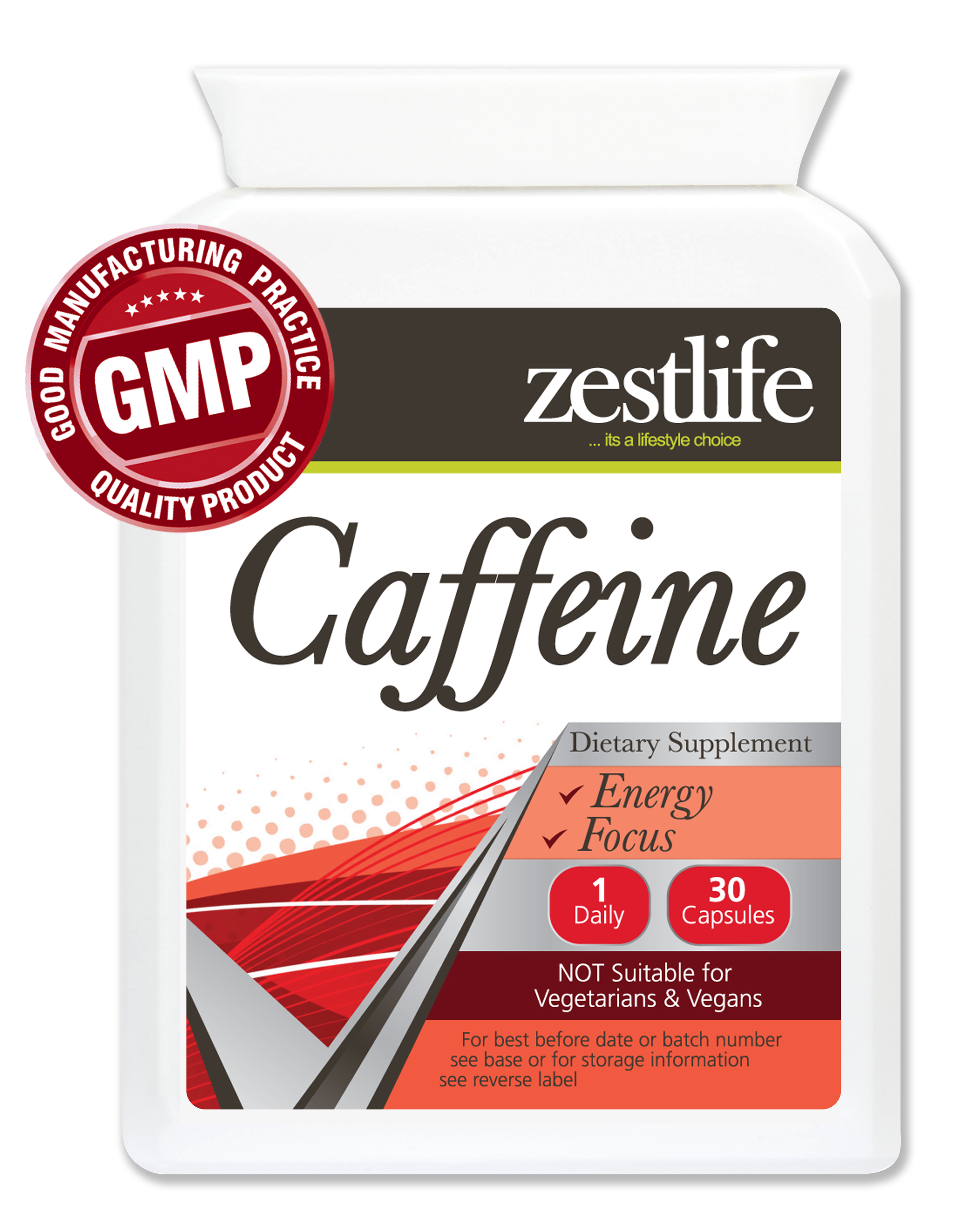 zestlife caffeine 200mg 30 capsules caffeine 200mg can help maintain