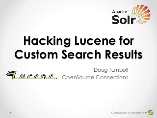 Hacking Lucene for Custom Search Results