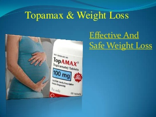 Topamax & weight loss