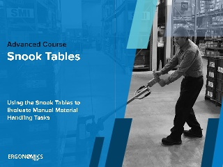 Snook Tables Course