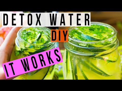 DIY Ayurvedic Detox Water - Weight Loss, Clear Skin, Flat Belly, Anti-Aging Recipe - Himani Wright
