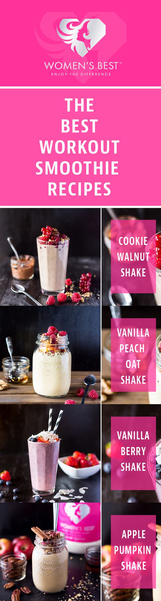 The BEST weight loss shake for women! #fitness - Eat Clean - Pinterest ...