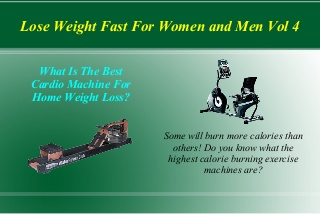 Lose weight fast for women and men vol 4