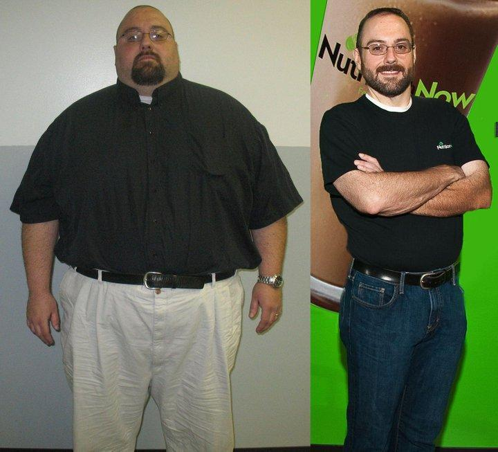 Ron lost 205 pound by Herbalife Independent Distributor\/Richard snook