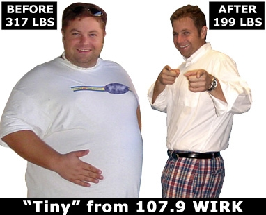 ... weight loss results after using Quick Weight Loss Center