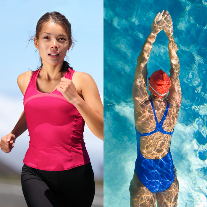 Running vs. Swimming - Workouts for Weight Loss: Calories Burned ...