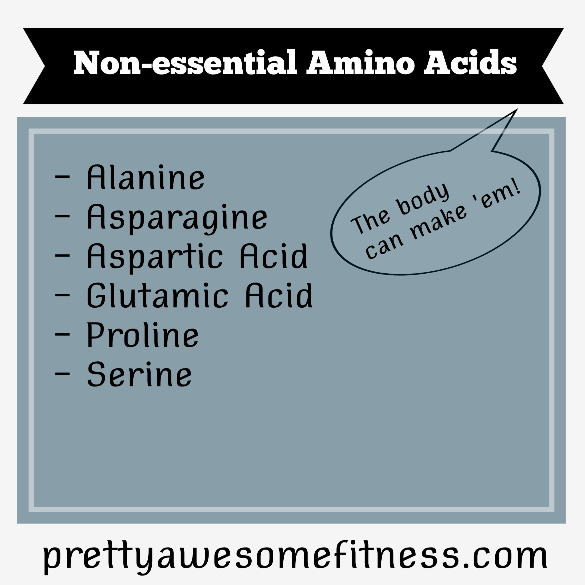 ... amino acids vs conditionally essential vs non-essential amino acids