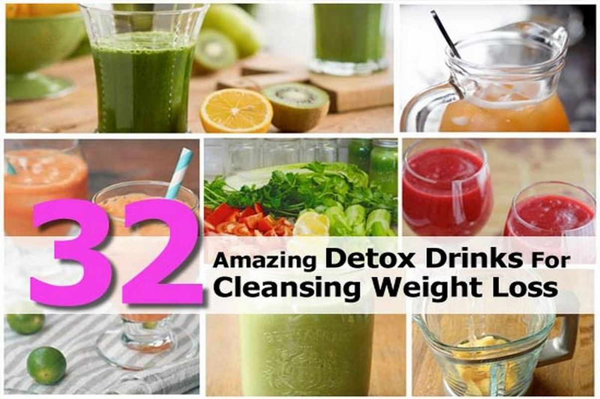 32 Amazing Detox Drinks For Cleansing