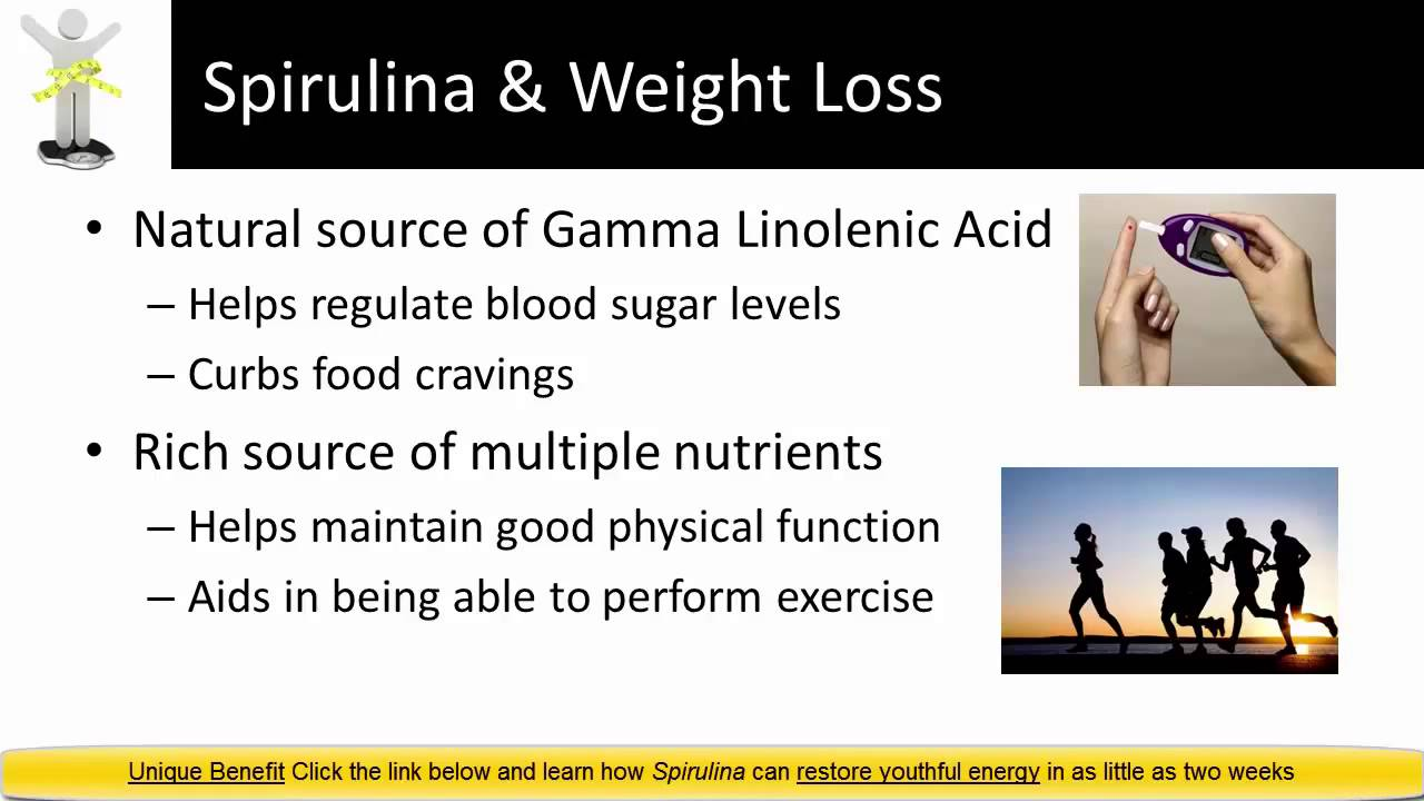Spirulina weight loss review another Spirulina Benefit - YouTube
