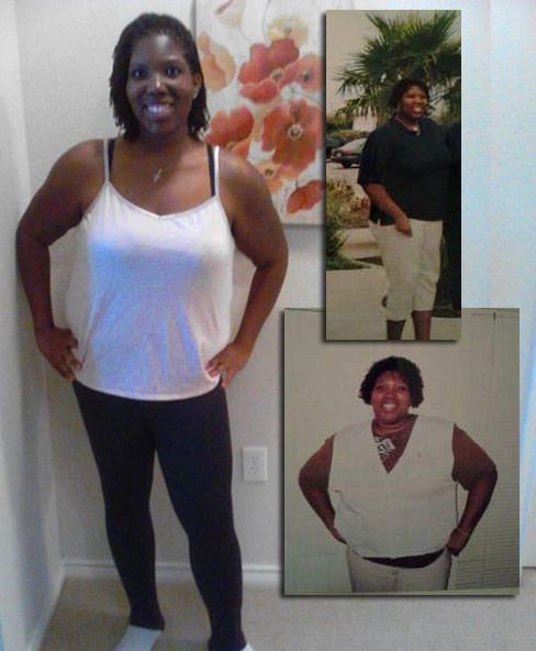Keiah lost 124 pounds - Black Weight Loss Success