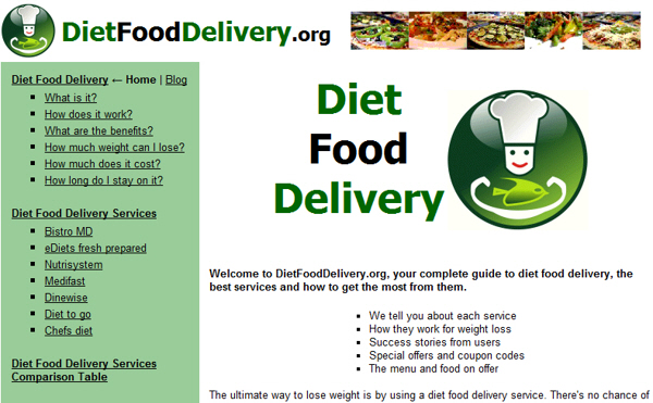 ... Food Delivery-Meal Delivery Services-Healthy Meal Delivery Plan