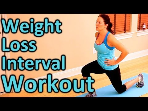 Full Body Weight Loss Cardio Workout, 8 Minute Home Fitness Routine ...