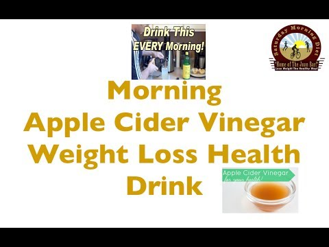 Morning Apple Cider Vinegar Weight Loss Health Drink- You
