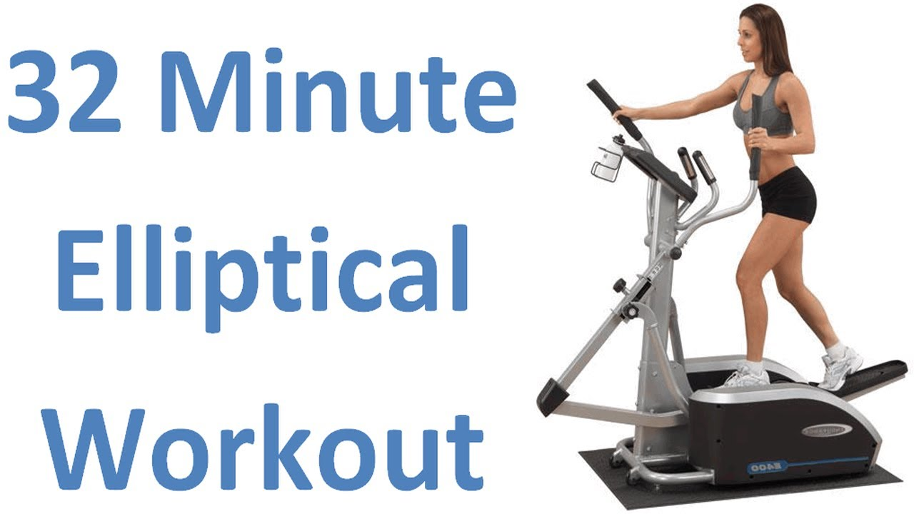 32 Min. Elliptical Workout. Burns 747 Calories. Serious Weight Loss ...