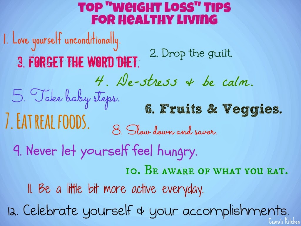 Health Tips: Health And Weight Loss Tips